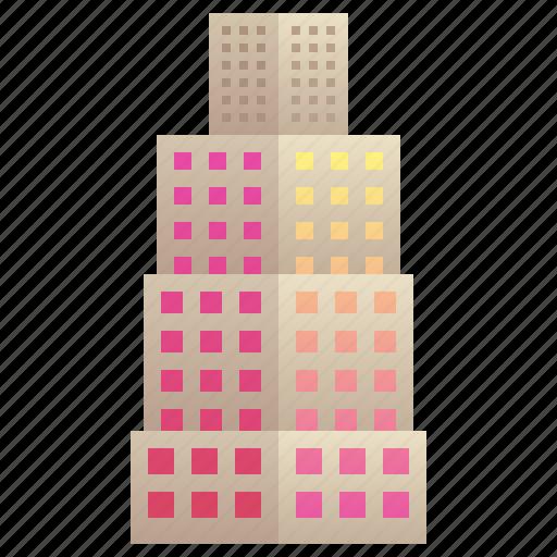 building, city, company, enterprise, skyscraper icon
