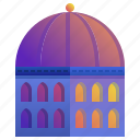 building, company, dome, enterprise, headquarter icon