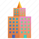 building, company, enterprise, headquarter, mansion icon