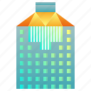 building, company, enterprise, headquarter, office icon