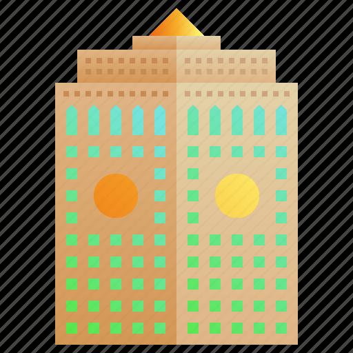 building, cityscape, company, enterprise, headquarter, skyscraper icon