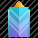 building, company, enterprise, futuristic, headquarter, skyscraper icon