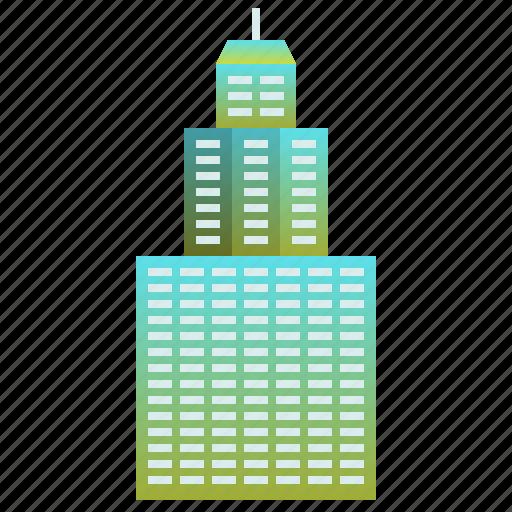 building, company, enterprise, headquarter, skyscraper icon