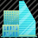 building, city, modern, futuristic, enterprise
