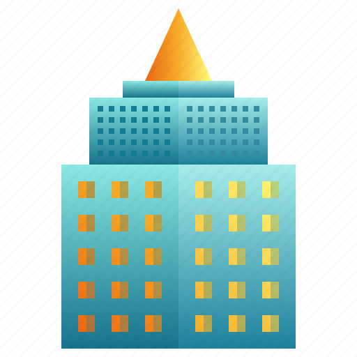 apartment, building, city, enterprise, futuristic, modern icon