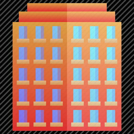 apartment, building, condo, enterprise, resident icon