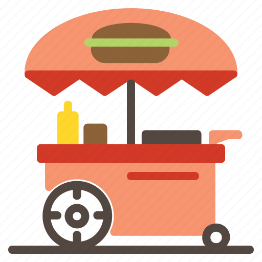 buildings, food, junk food, meal, shop, stand, store icon