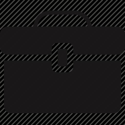 briefcase, case, online icon