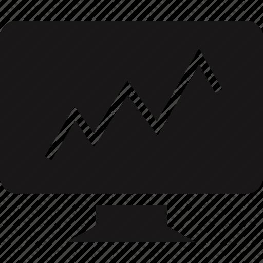market, monitor, stock icon