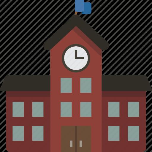 building, college, school, schoolhouse icon