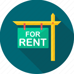 board, for rent, rent icon