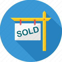 board, commerce, sale, sold, sold item, tag icon