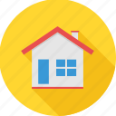 apartment, architecture, building, home, house, property, villa icon