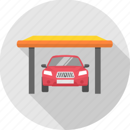 car, car park, car parking, parking icon