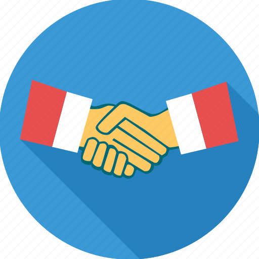 agreement, business, contract, deal, hand shake, meeting icon