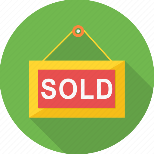 offer, sale, sold, tag icon
