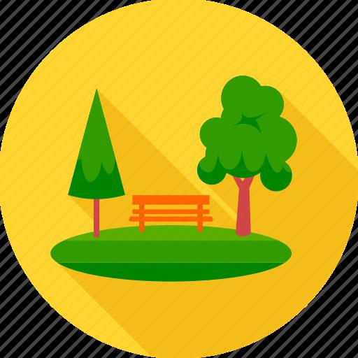 garden, nature, park, tree icon