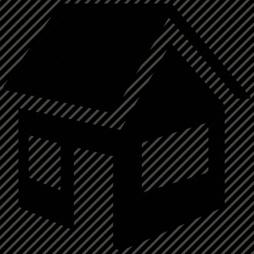 cabin, cottage, home, house, hut, villa icon