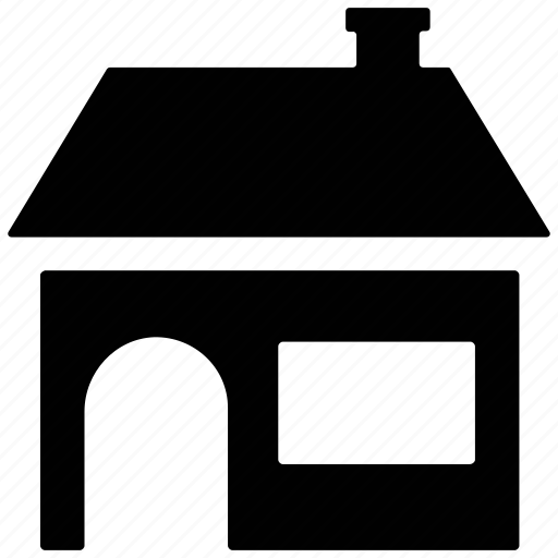 house, hut, shack, shop, villa icon