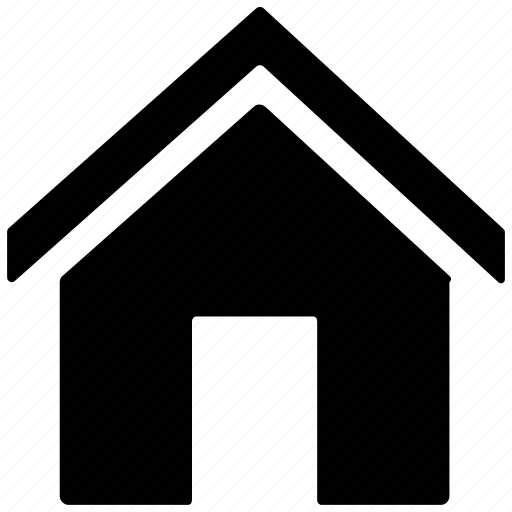 home, house villa, hut, shack icon