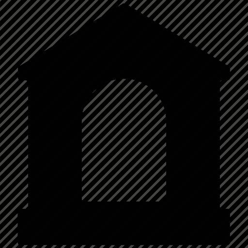 building, entrance, entrance door, home entrance, house door icon