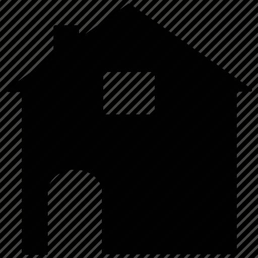 barn, building, farm house, silo, storehouse icon
