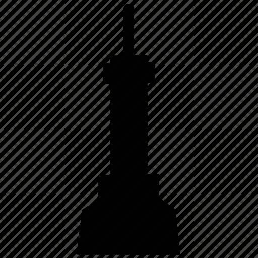 column, minaret, pillar, tower, tower building icon