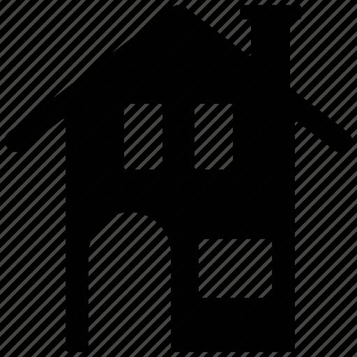 building, home, house, hut, shack, villa icon