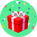 anniversary, birthday, celebration, gift, party, present, xmas icon