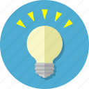 bulb, idea, inspiration, light icon