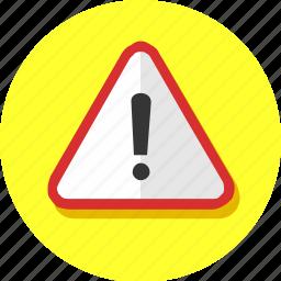 notice, remark, urgent, warning icon