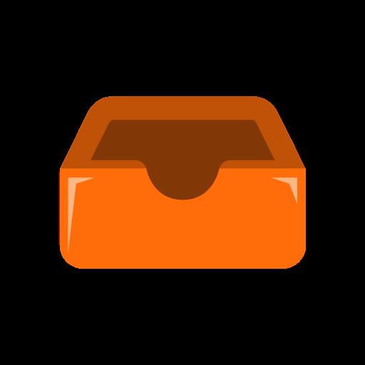 box, dropbox, inbox, outbox, store icon