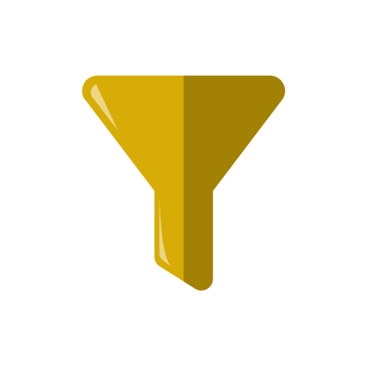 filter, filtering, funnel, options icon