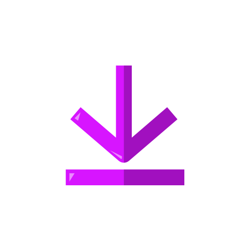 arrow, arrow down, download, export, import, install icon