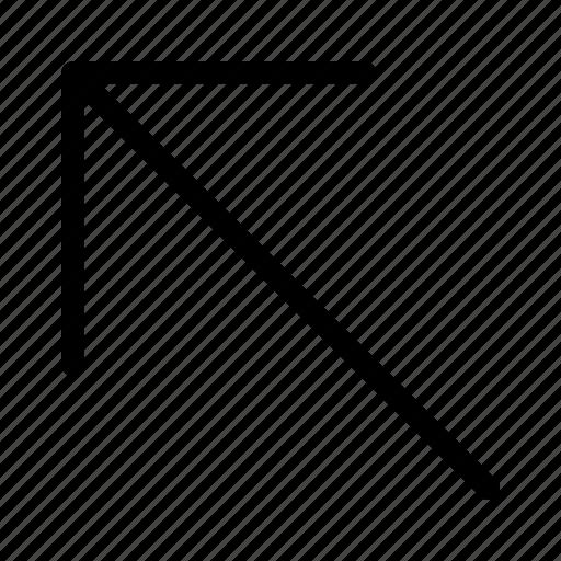 arrow, cursor, direction, movement, pointer icon