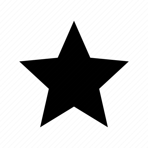 favorite, like, preference, rating, star icon