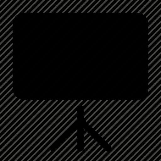 chart, keynote, presentation, projector, slideshow icon