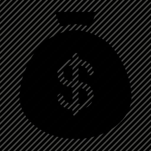 bag, coin, money, purse, wallet icon
