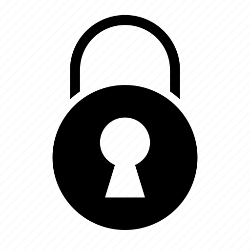 lock, padlock, protection, safe, security icon