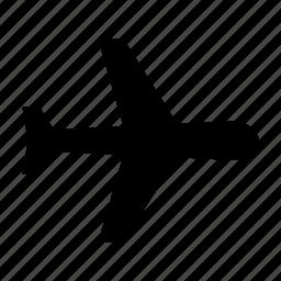 airplane, flight, passanger, plane, travel icon