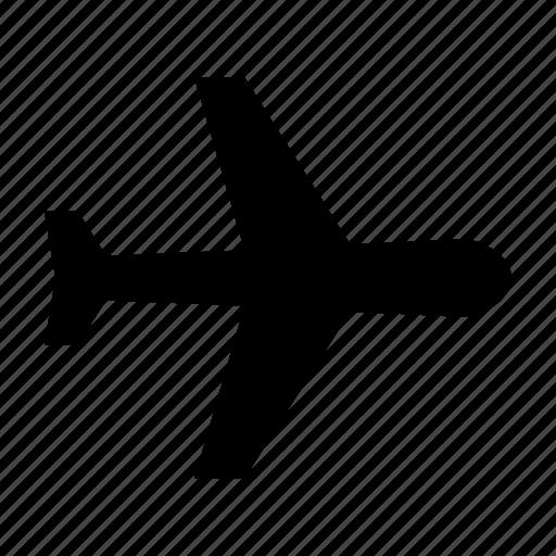 Airplane, flight, passanger, plane, travel icon - Download on Iconfinder