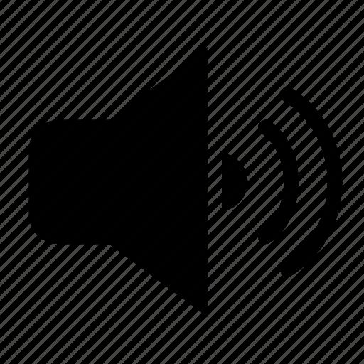 adjust, loud, sound, speaker, volume icon