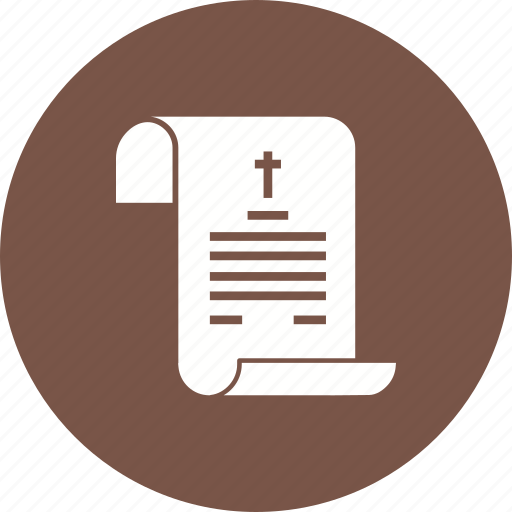Certificate, dead, death, document, form, legal, paper icon - Download on Iconfinder