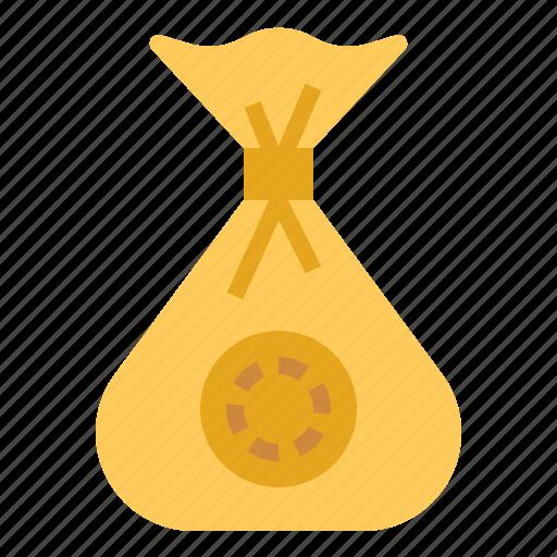 bag, bank, banking, finance, money, savings icon