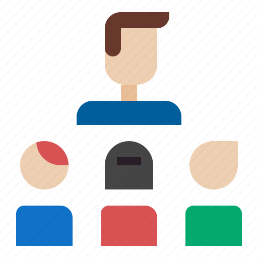 business, group, meeting, presentation, team icon