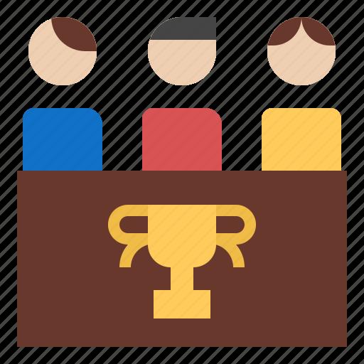 business, people, success, team, teamwork, work icon