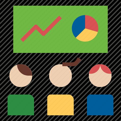 business, presentation, seminar, training icon