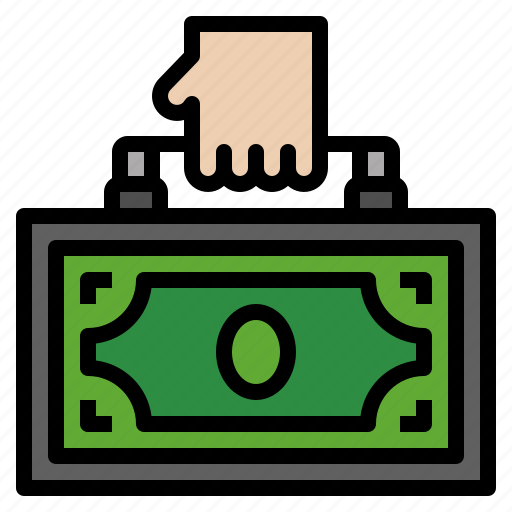 bag, business, finance, money, payment icon
