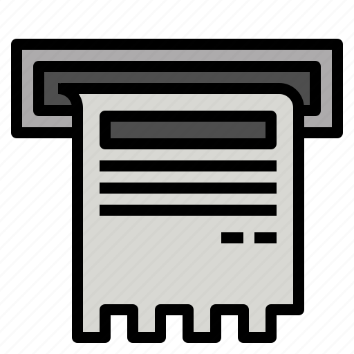 bill, document, file, finance, money, page icon