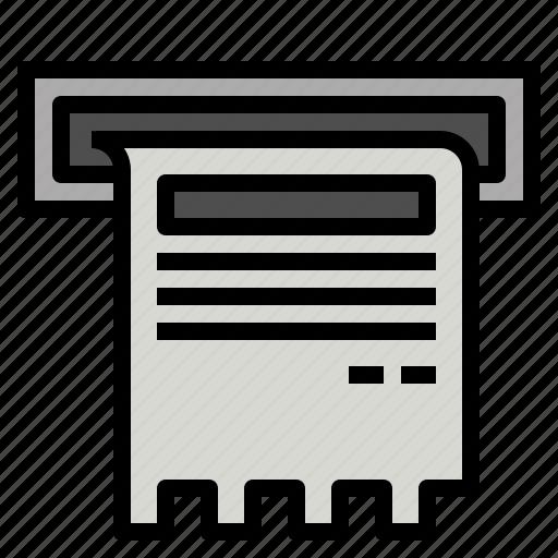 Bill, finance, money icon - Download on Iconfinder